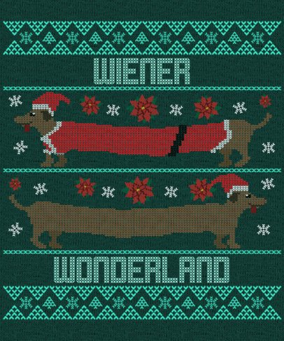 Placeit Ugly Christmas Sweater Design Template Featuring Funny Illustrations,Bezalel Academy Of Arts And Design Jerusalem