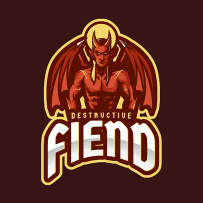 Logo Generator with a Fiend Illustration 2633h
