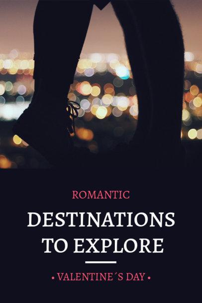 Valentine's Day Pinterest Pin Maker for Romantic Getaways 1125h 1961