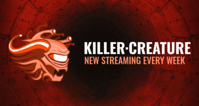 Twitch Banner Design Maker Featuring an Evil Creature 1964i