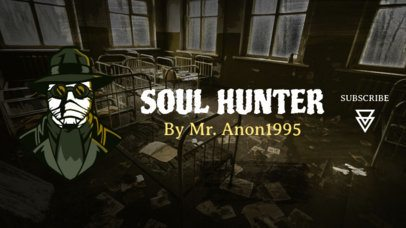 Horror-Themed Twitch Banner Maker for Professional Gameplay Streamers 1965k