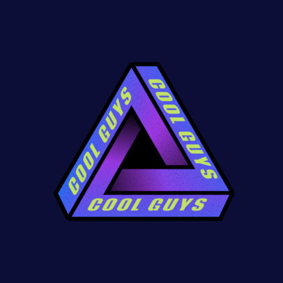 Cool Logo Maker for a Skate Clothing Brand 2649a