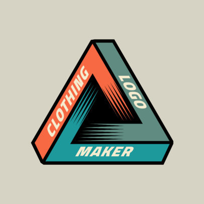 Clothing Brand Logo Maker with an Undecidable Figure 2649d