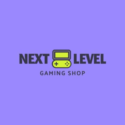 Online Logo Maker for a Gaming Shop 1637g-91-el