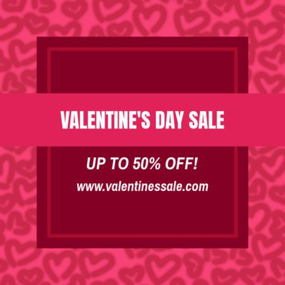 Valentine's Day-Themed Instagram Post Creator for Sales 1956b