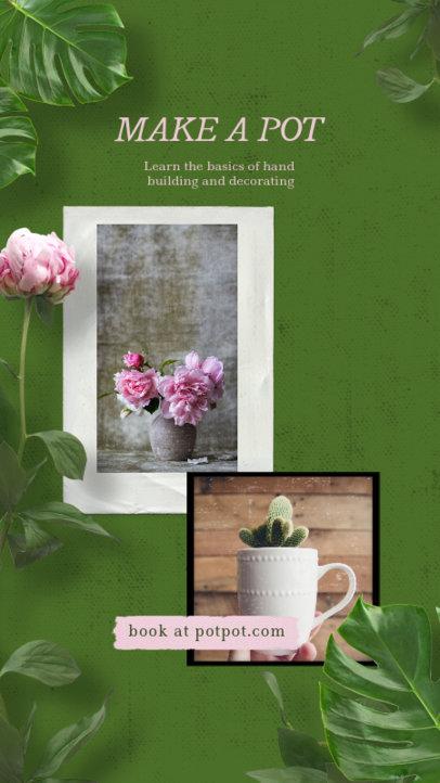 Instagram Story Maker for Plant Decor Tips 1950b