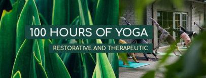 Yoga-Themed Facebook Cover Generator 1976b