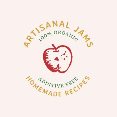 Artisanal Jam Logo Generator for an Organic Products Brand 1287i 36-el
