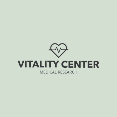 Online Logo Generator for a Medical Research Center 1049i 79-el