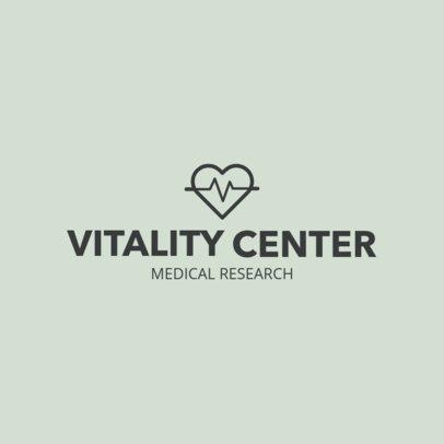 Online Logo Generator for a Medical Research Center 1049i 79-el