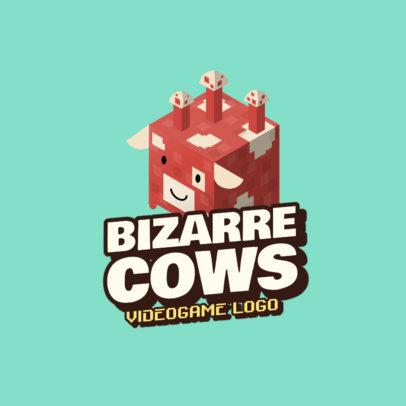 Minecraft-Inspired Gaming Logos!