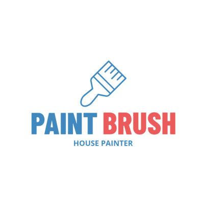 Logo Maker for a Painting Company 1446f-111-el