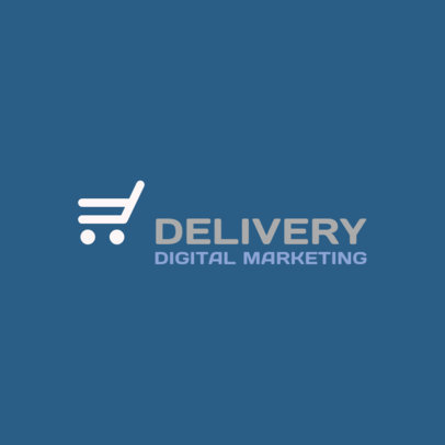 Online Logo Maker for a Digital Marketing Company 2230k-124-el