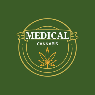 Logo Generator for a Medical Cannabis Store 161b-el