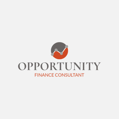 Online Logo Template for Financial Consulting Firms