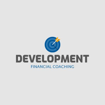 Online Logo Generator for Financial Coaching Services 2551j 75-el