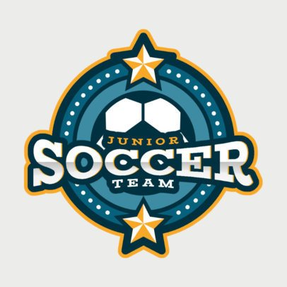 Soccer Logo Maker for a Junior Team 2702d