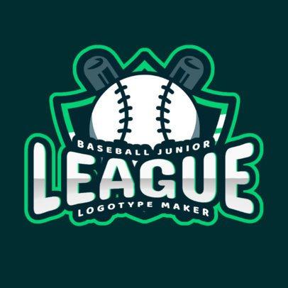 Baseball Logo Template for a Junior League 2702e