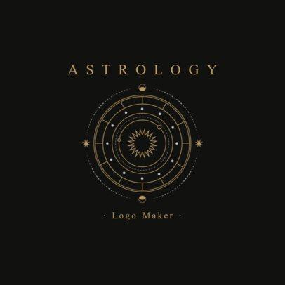 Astrology Logo Maker 2662