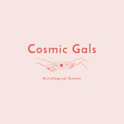 Online Logo Template for an Astrological Center 2662f