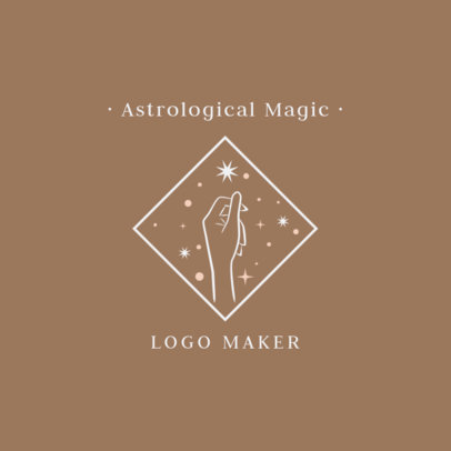 Astrological Logo Template 2662j