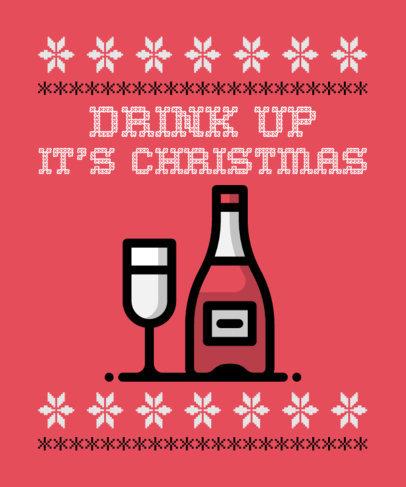 Sardonic Ugly Christmas T-Shirt Maker 28a-el