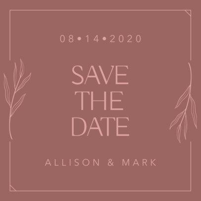 Instagram Post Maker for a Wedding Announcement 1998