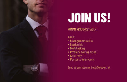 Customizable HR Consulting Flyer Maker