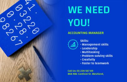 HR Services Flyer Maker with Customizable Background 291e