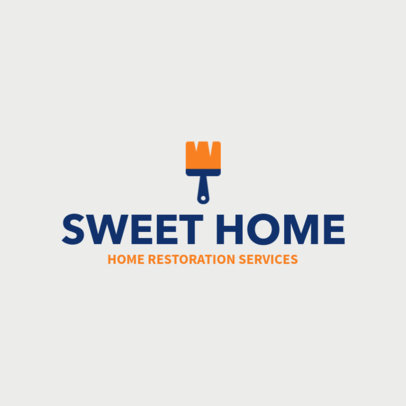 Online Logo Maker for Home Restoration Services 1431f-155-el