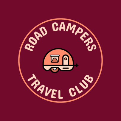 Logo Maker for a Travel Club