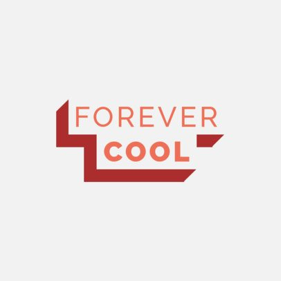 Urban Clothing Brand Logo Maker with a Tridimensional Text Block Design 2722e