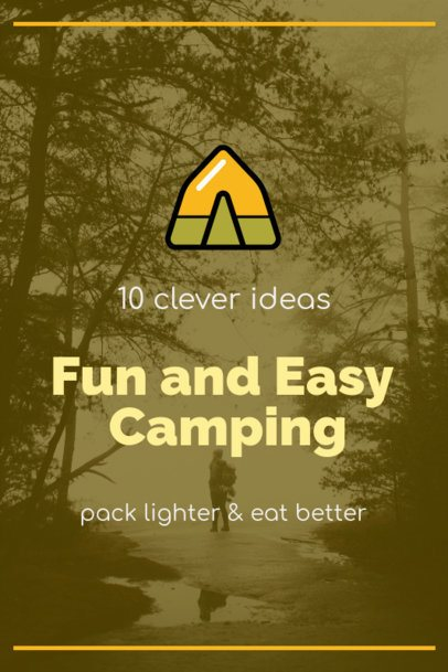 Pinterest Pin Maker for Camping Tips 1768h 115-el