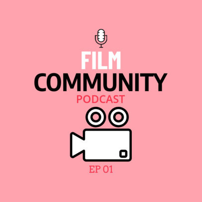 Specialized Film Podcast Cover Maker 1498h 147-el