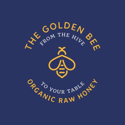 Online Logo Maker for an Organic Honey Store 1287k 178-el