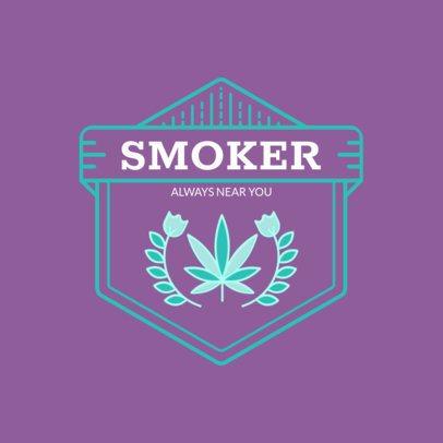 Logo Creator Featuring a Marijuana Leaf 161a-el