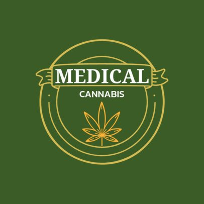 Logo Generator for a Medical Cannabis Store 161b-el