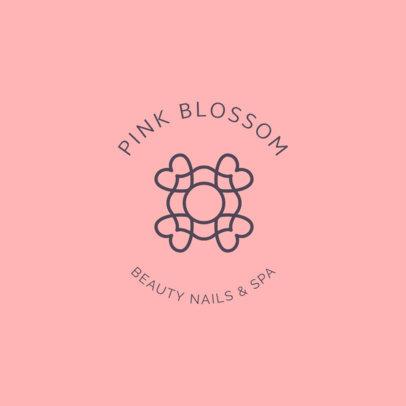 Online Logo Template for Beauty Salons 1145h 156-el