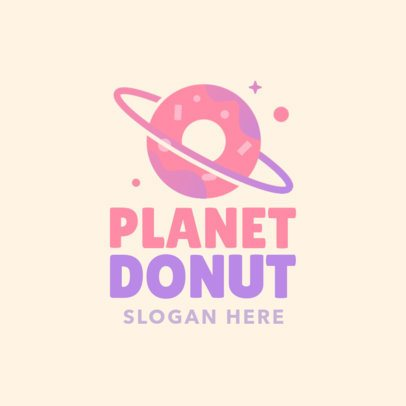 Cool Logo Maker for a Donut Shop 1029h-184-el