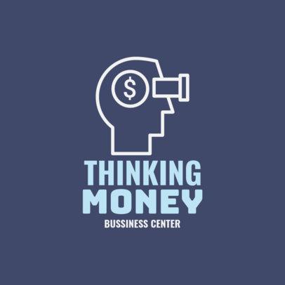 Online Logo Generator for Business Centers 1203h 190-el
