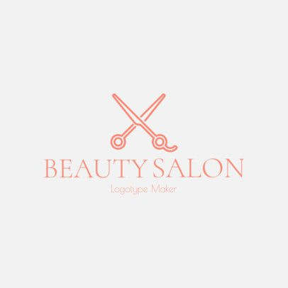 Online Logo Template for a Hair Salon 1137g 157-el
