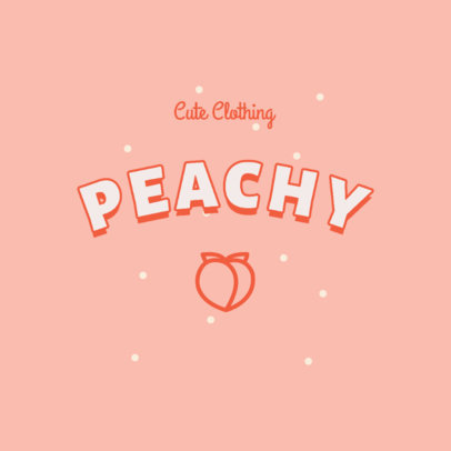 Clothing Brand Logo Template with a Girly Style 2736a