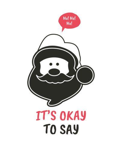 Christmas T-Shirt Maker with Speech Balloons 51-el