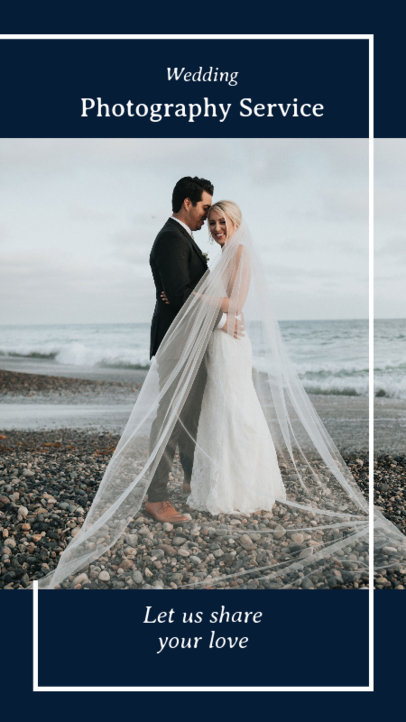 Instagram Story Maker for a Wedding Photography Service 2006b