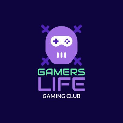 Online Logo Maker for a Gaming Club 1289l-251-el