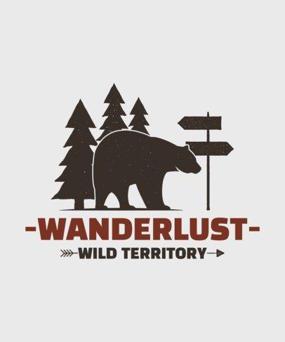 Adventurous T-Shirt Design Template 58-el