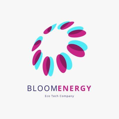 Online Logo Design Template for an Eco-Tech Company 2176l-206-el