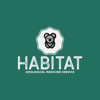 Logo Maker for a Zoo Veterinarian 1147g 327-el