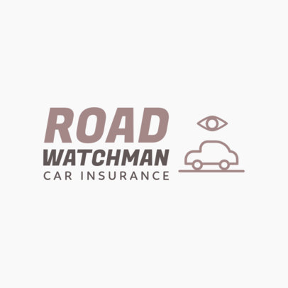 Car Insurance Logo Maker 1189j 296-el