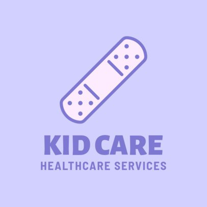 Pediatric Healthcare Logo Maker 257d-el